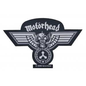 Motorhead Hammered Cut Out Woven Patch