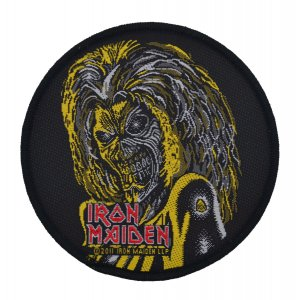 Iron Maiden Killers Face Woven Patch