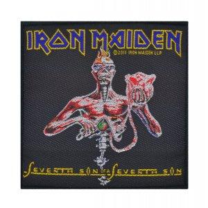 Iron Maiden Seventh Son Woven Patch