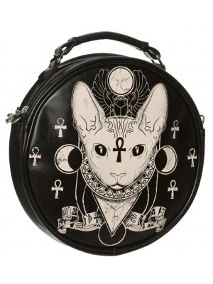 Banned Bastet Round Bag
