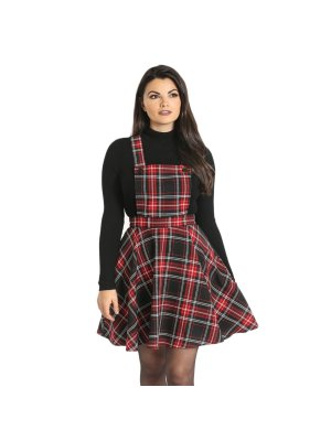 Hell Bunny Islay Pinafore Dress