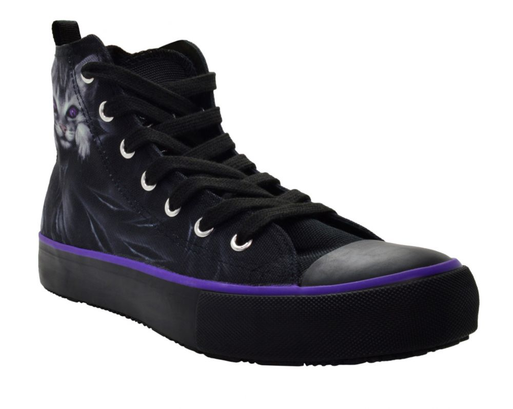 Spiral Souls Women/'s Bright Eyes High Top Sneakers