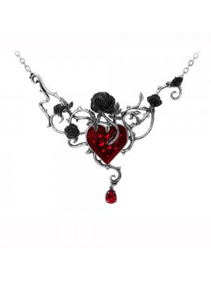 Alchemy Pewter Pendant Bed of Blood Roses