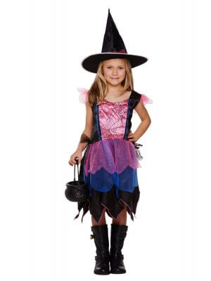 Child's Witch Firework Costume
