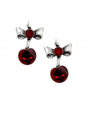 Alchemy Black Cherry Earrings