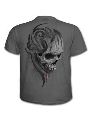 Spiral Charcoal Death Roar T-Shirt