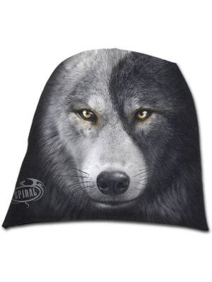 Spiral Wolf Chi Light Cotton Beanie Hat