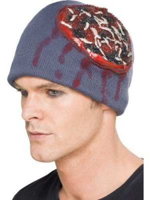 Smiffy's Beanie Hat With Exposed Brain