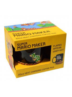Super Mario Maker Bowser Heat Changing Oversized Mug