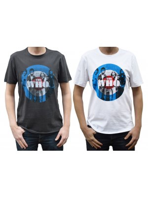 Amplified The Who Target Crew Neck T-Shirt