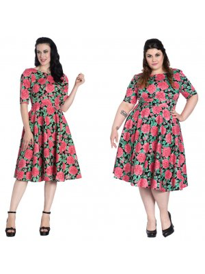 Hell Bunny Darcy 50's Dress