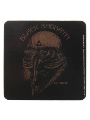Black Sabbath US Tour '78 Cork Coaster