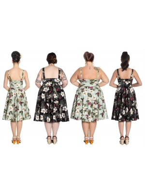 Hell Bunny Tahiti 50's Dress