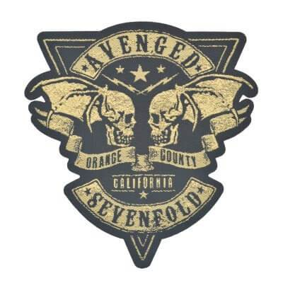 Avenged Sevenfold Orange County Cut Out Woven Patch