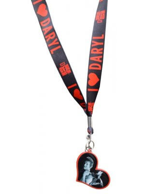 The Walking Dead I Heart Daryl Lanyard