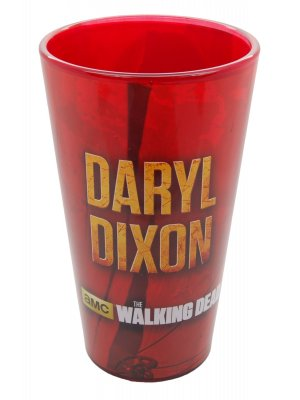 The Walking Dead Red Daryl Pint Glass