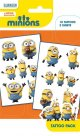 Minions Characters Tattoo Pack