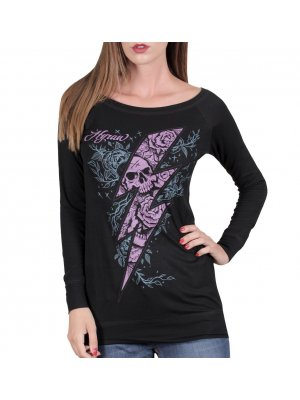Hyraw Flash Women's Long Sleeved T-Shirt