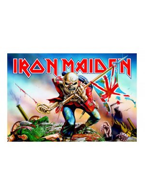 Iron Maiden The Trooper Wallpaper Mural