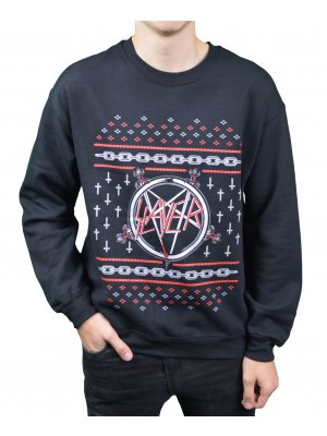 Slayer Pentagram Christmas Jumper