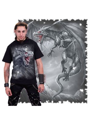 Spiral Dragon's Cry T-Shirt
