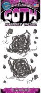 Tinsley Transfers Black Roses Temporary Tattoo Pack