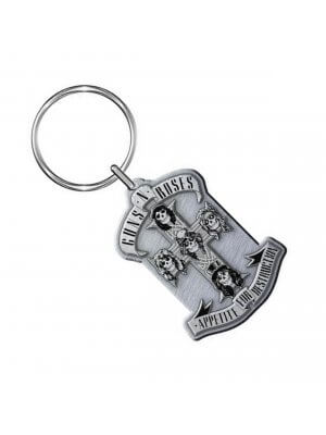 Guns N' Roses Appetite For Destruction Metal Keyring