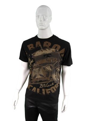 D Vicente Red Baron Cali Men's T-Shirt
