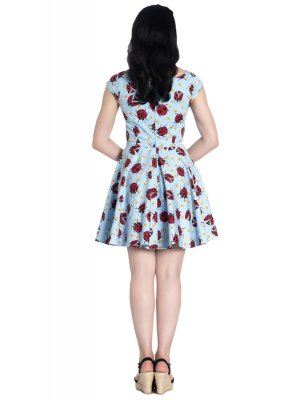 Hell Bunny Lila Mini Dress