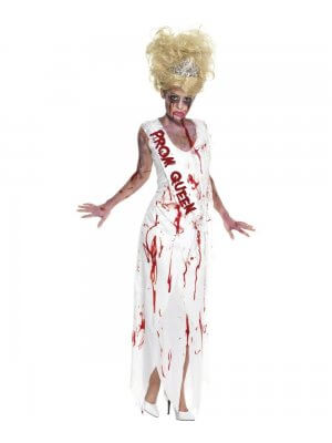 Smiffy's High School Horror Prom Queen Costume