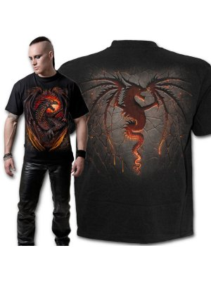 Spiral Dragon Furnace T-Shirt
