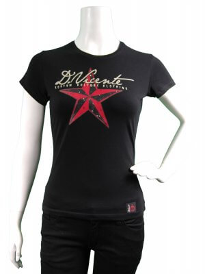 D Vicente Star Vicente Women's Fitted T-Shirt