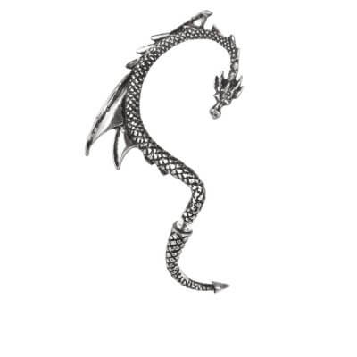 Alchemy Pewter Earring The Dragon's Lure (Right)
