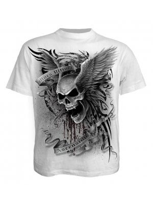 Spiral Ascension White T-Shirt