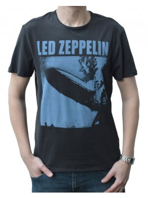 Amplified Led Zeppelin Blimp Crew Neck T-Shirt