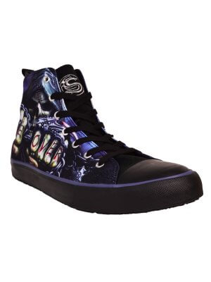 Spiral Souls Men's Game Over High Top Sneakers