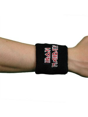 Iron Maiden The Final Frontier Embroidered Wrist Sweatband