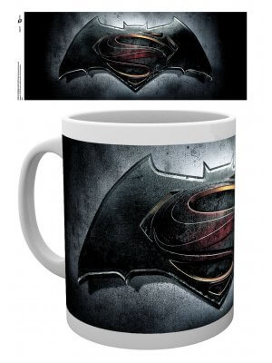 Batman Vs Superman Logo Mug