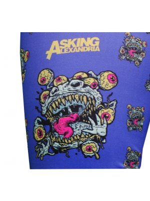 Asking Alexandria Eyeballs Logo Leggings