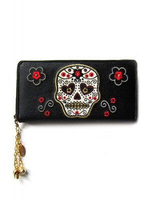 Banned Candy Skull Purse