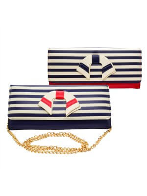 Dancing Days Vintage Nautical Purse