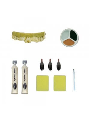 Zombie Peeling Skin Make Up Kit