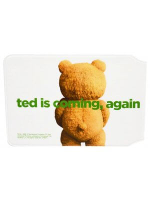 Ted 2 Logo Card Holder