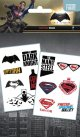 Batman Vs Superman Temporary Tattoo Pack