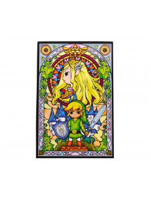 The Legend Of Zelda Stained Glass Magnet