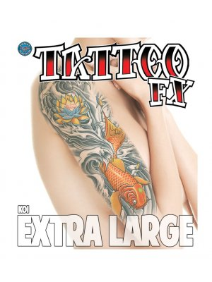 Tinsley Transfers XL Koi Tattoo FX