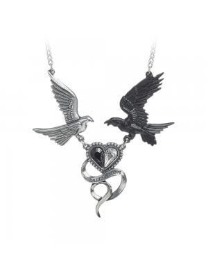 Alchemy Epiphany Of St. Corvus Necklace