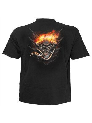 Spiral Wheels Of Fire T-Shirt