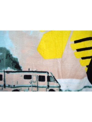 Breaking Bad RV Fleece Blanket