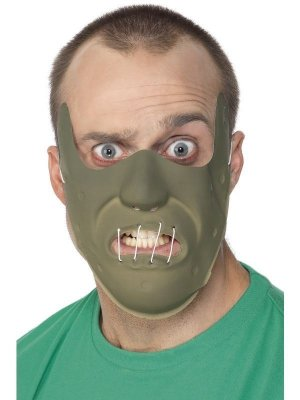 Smiffy's Adult PVC Restraint Horror Mask